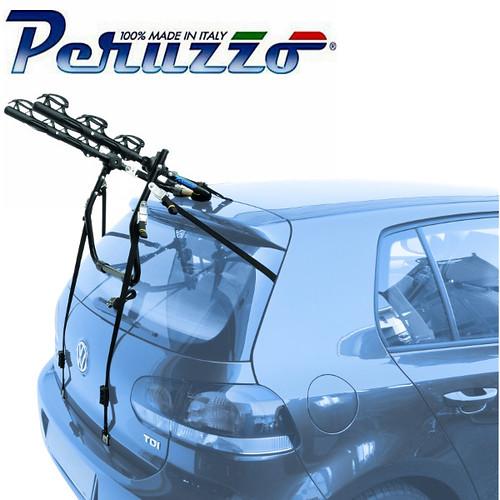 PORTABICI POSTERIORE AUTO MAX 3 BICI CON REGOLAZIONE CINGHIE ACCIAIO CARICO MAX 45KG - CRUISER DELUX