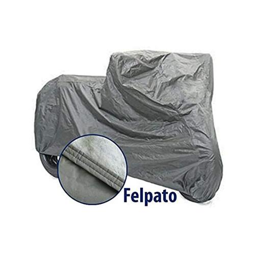 TELO COPRIMOTO FELPATO IMPERMEABILE ANTISTRAPPO DA ESTERNO TAGLIA M 203x89x122 CM